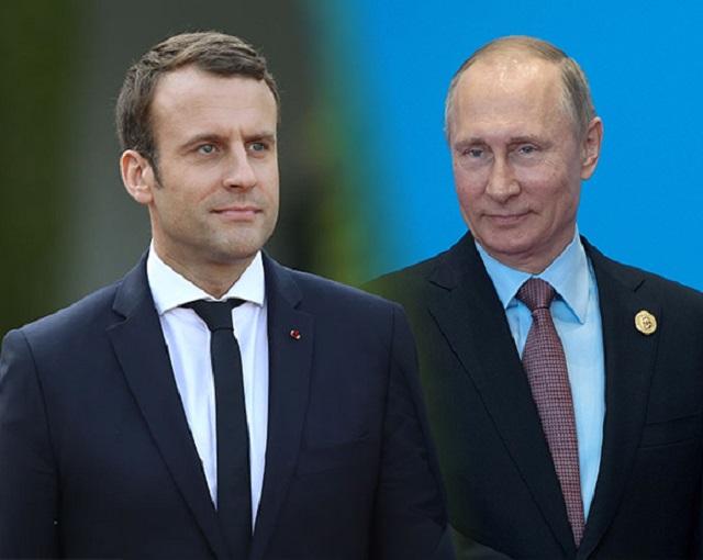 Разговор с Путиным вынудил Макрона забыть про колкости в адрес России