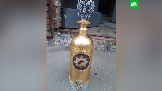 Украденную самую дорогую бутылку водки в мире нашли пустой на стройке