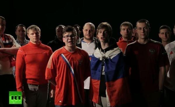 """Российские фанаты записали приглашение британцам на ЧМ по футболу. """"Ойся, ты, ойся, ты меня не бойся!..."""""""