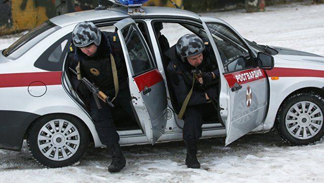 В Чечне боевики напали на бо…