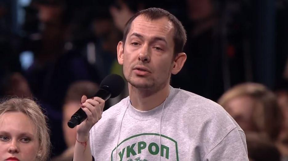 Украинский журналист вспылил в эфире ТВ: «Захват Крыма и Донбасса вам никто не простит»