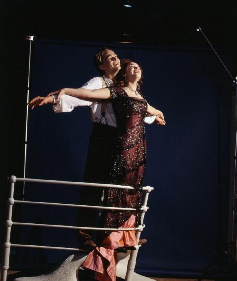 Вот что осталось за кадром: 30 редких фото со съемок «Титаника»