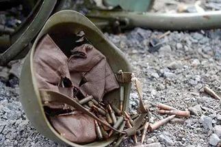 """Украинские морпехи """"бузят"""" под Мариуполем"""