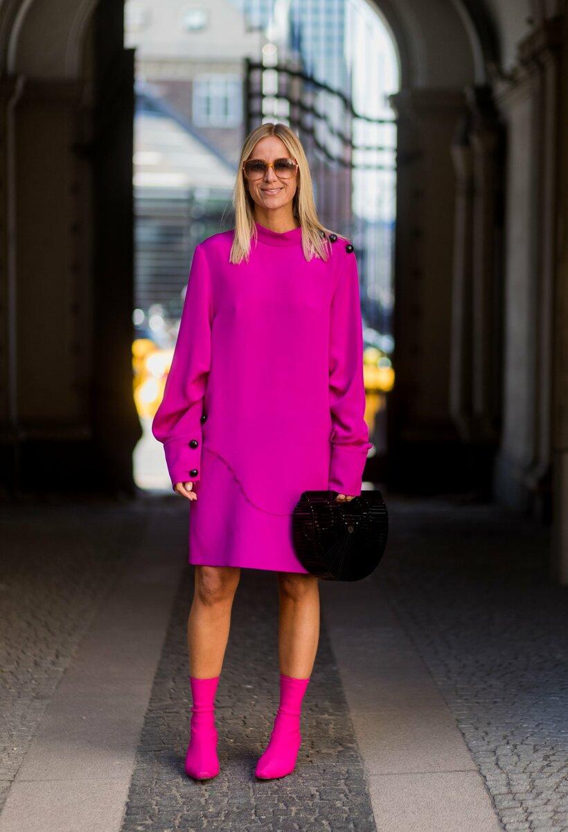 С чем сочетать розовую обувь? /Фото: media1.popsugar-assets.com