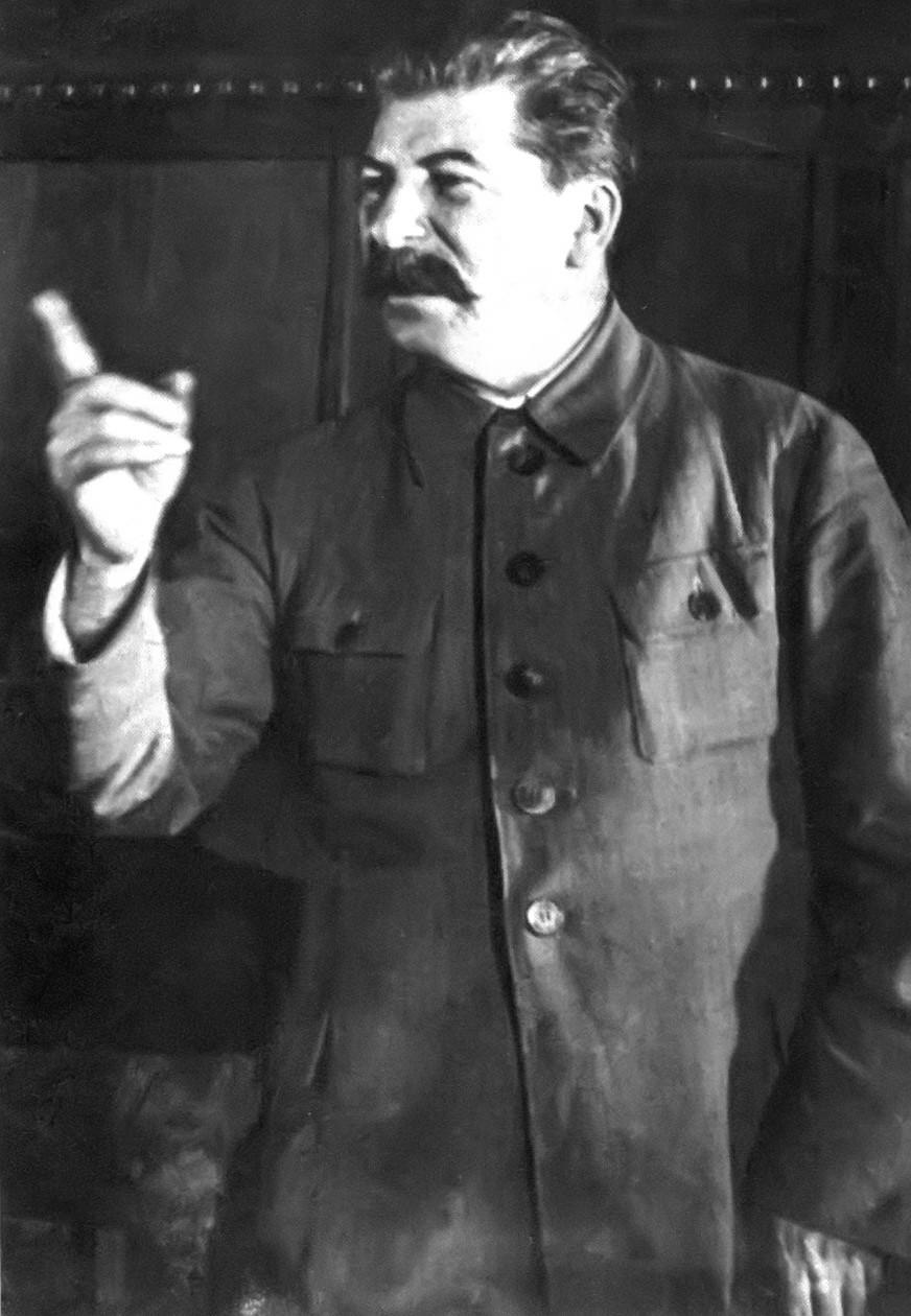 Плакаты работать так, что бы товарищ сталин спасибо сказал!