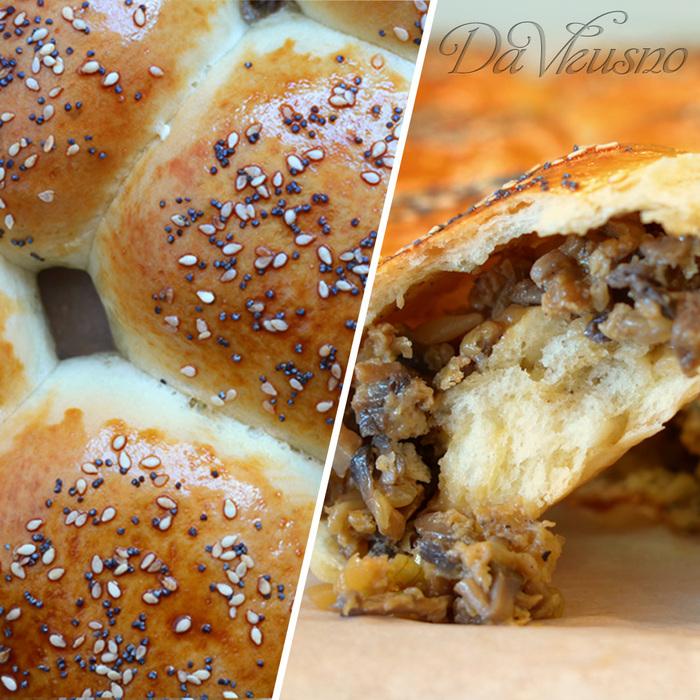 Булочки с сырно-грибной начинкой Булочка с начинкой, Булочки, Кулинария, Видео рецепт, Видео, Длиннопост