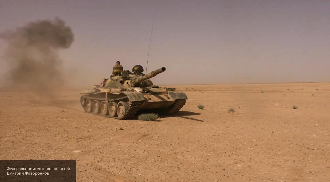 Боевикам мерещатся уничтоженные Т-90, пока Т-62М спасают экипаж от ракет
