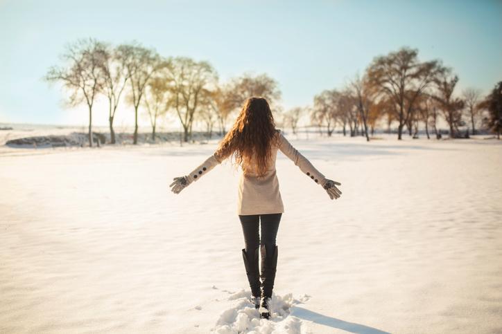 С чем носить ботфорты зимой?