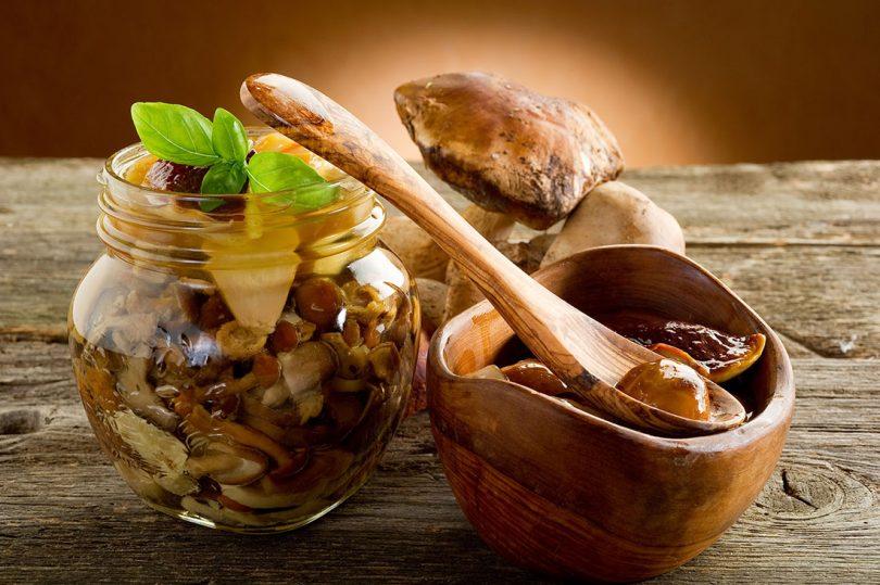 Постные блюда из грибов