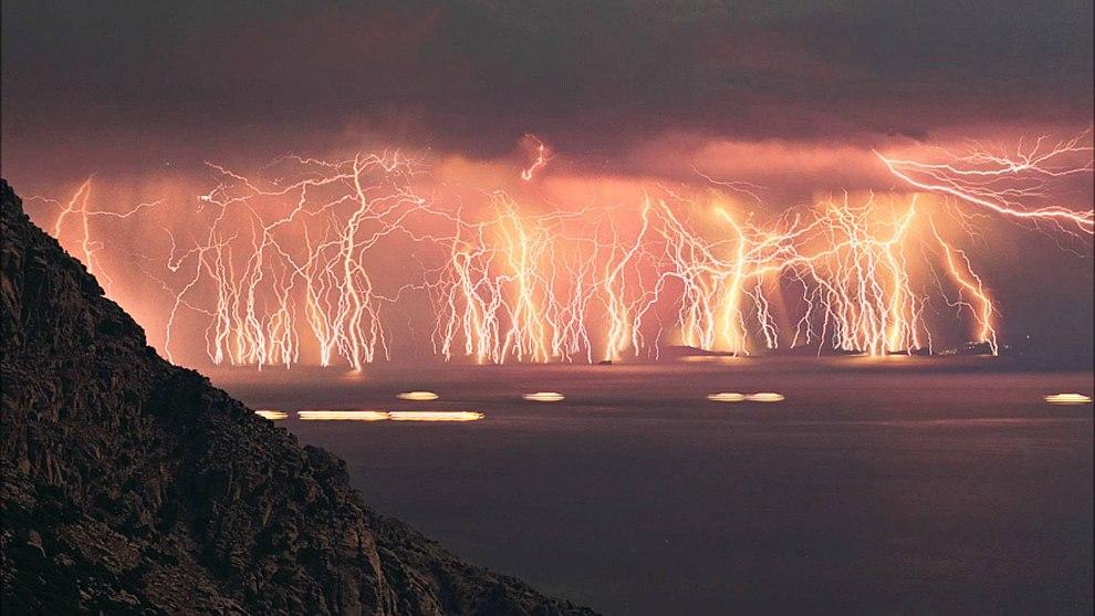 Семь самых редких погодных феноменов