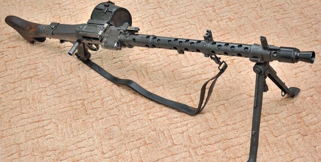 Рассказы об оружии. Пулемёт MG-34