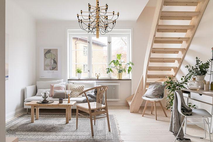 Простота, которая притягивает: очаровательная квартира в Мальме (71 кв. м)
