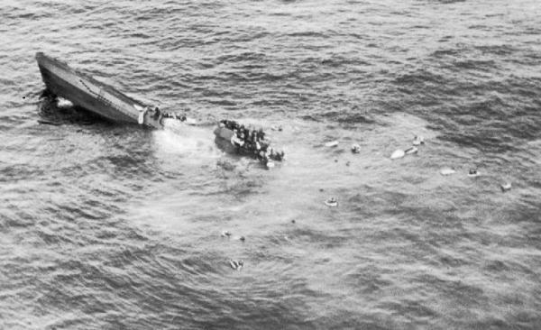 U 1206: немецкая субмарина, которую погубил гальюн