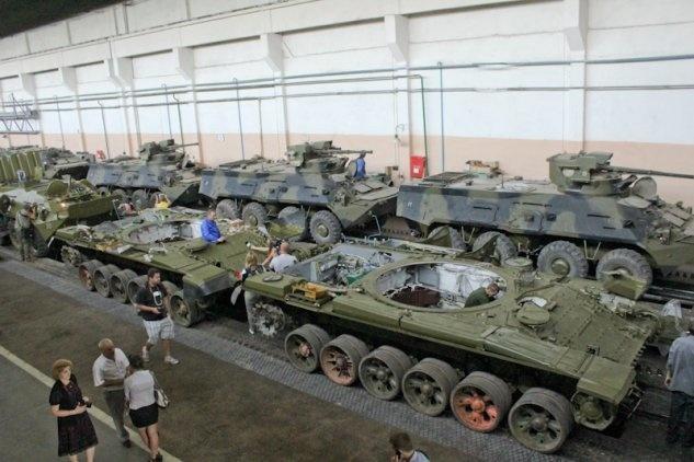Бронетанковый ремонтный завод (группа УВЗ Ростех) освоил капремонт бронетранспортера БТР-82АМ