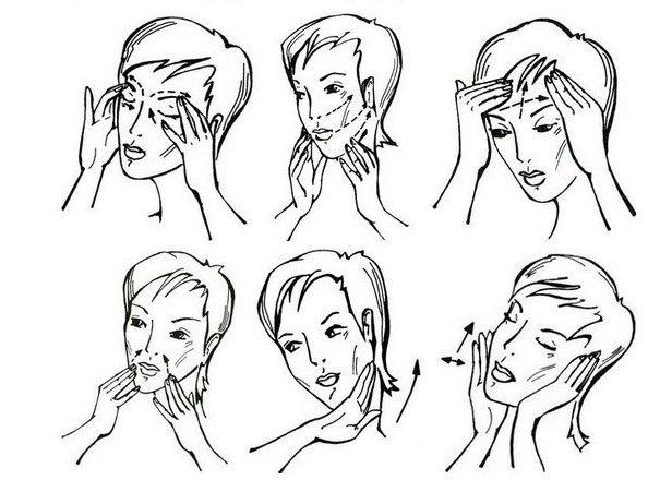 Как делать массаж лица и шеи в домашних условиях