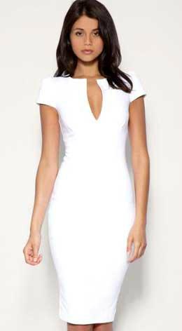 Шитьё - платье белое