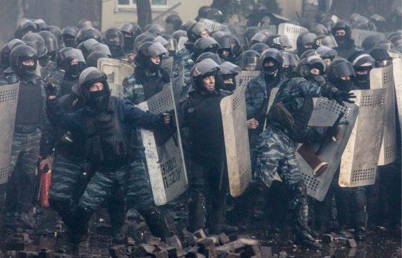 Три года назад «Беркут» отстаивал то, за что сейчас борется Украина