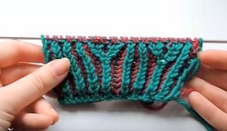 Вязание в технике бриошь