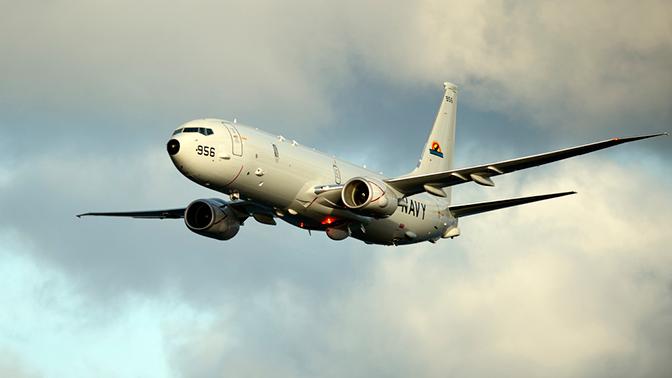 Патрульный самолет США заметили у границ Крыма