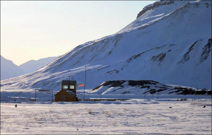 Прогулка по советскому городу в Норвегии