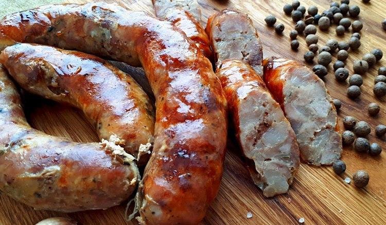 Крестьянская рубленая колбаса