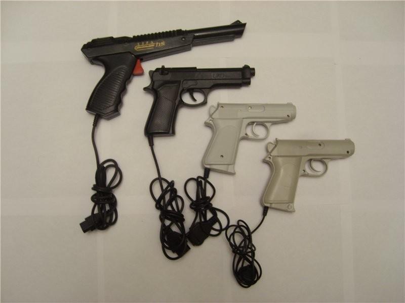 Как работал пистолет в приставке Dendy