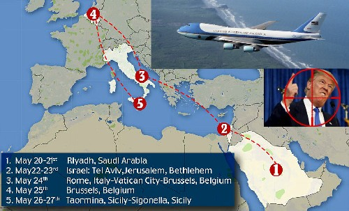 Самолет Трампа будет сбит?