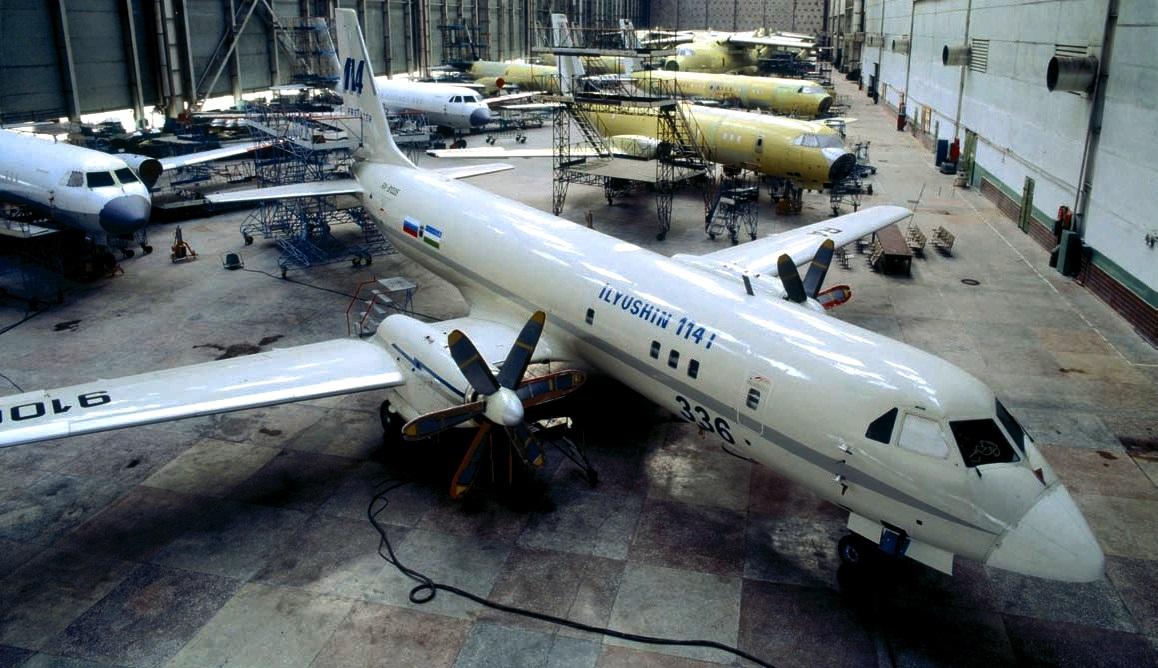Двенадцать самолётов ИЛ-114 в год планируется выпускать на базе нижегородского авиазавода «Сокол»