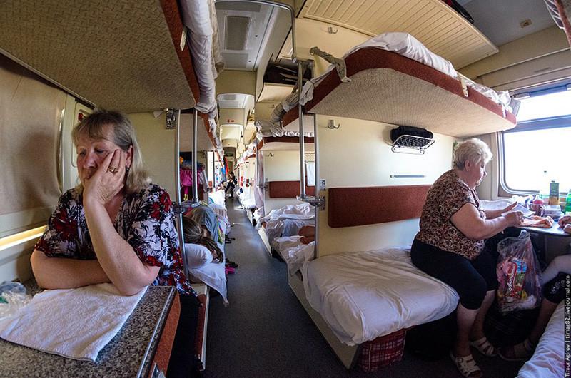 """Проблема """"бабок"""" актуальна всегда. История о поездке на поезде"""