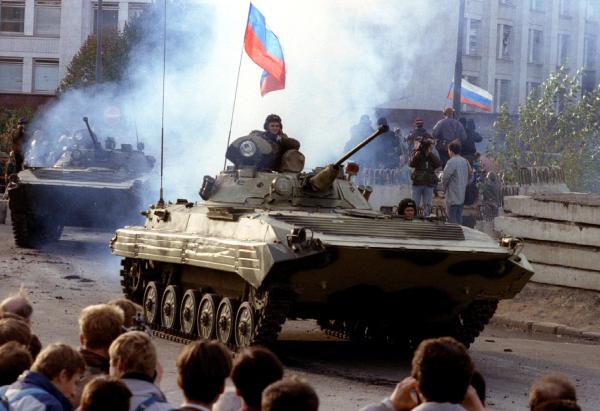 «Ельцинский переворот» - благополучно пройденный зигзаг истории