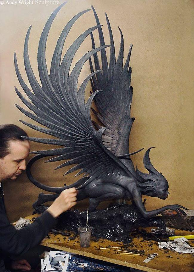 Художник создаёт скульптуры, которые сложно отличить от настоящих