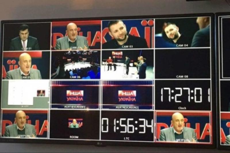 Шашлык за миллион гривен: телевизионный дебют Саакашвили оплачивает бизнесмен Григоришин