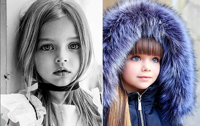 Дети, поразившие Интернет своей красотой.