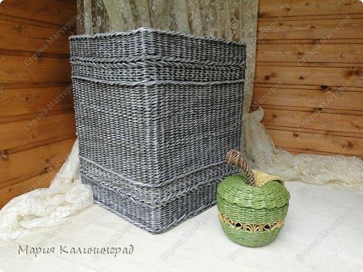 Очень красивые плетенки из газет от Марии Калининград (50) (520x390, 178Kb)