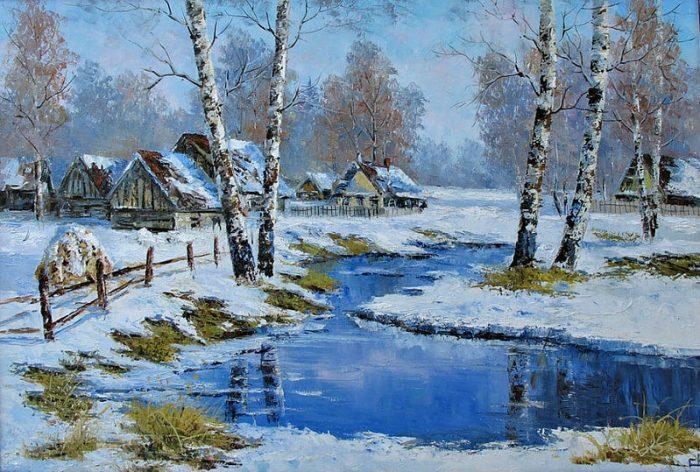 Это Родина моя — русский пейзаж на картинах художника Евгения Синева