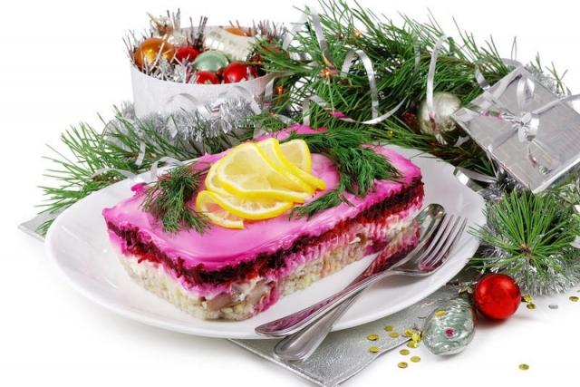 калорийность новогоднего стола