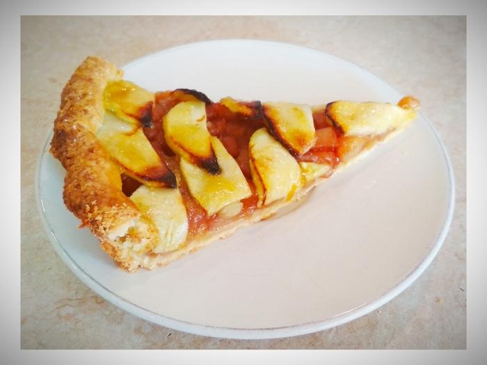 Французский яблочный тарт Яблоки, Рецепт, Выпечка, Песочное тесто, Длиннопост