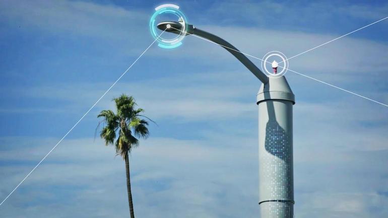В США появятся фонари оценивающие состояние экологии