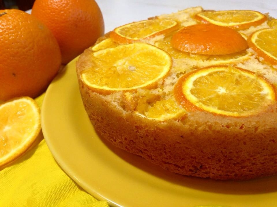 нарезаный апельсин