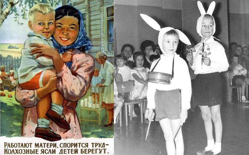 ДЕТСКИЕ САДЫ В СССР