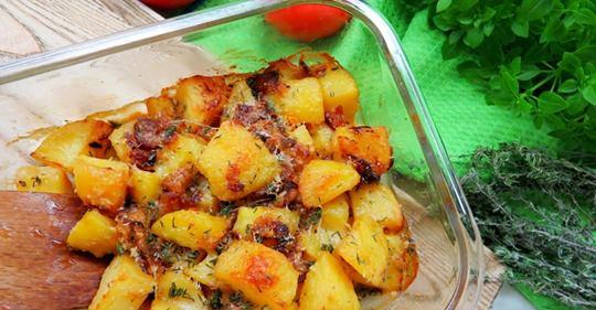 Вкуснейший запеченный картоф…
