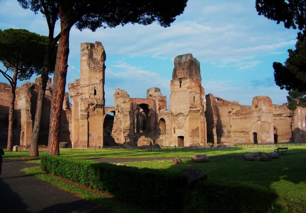 Каракаллы: самый большой термальный комплекс Древнего Рима (Италия)