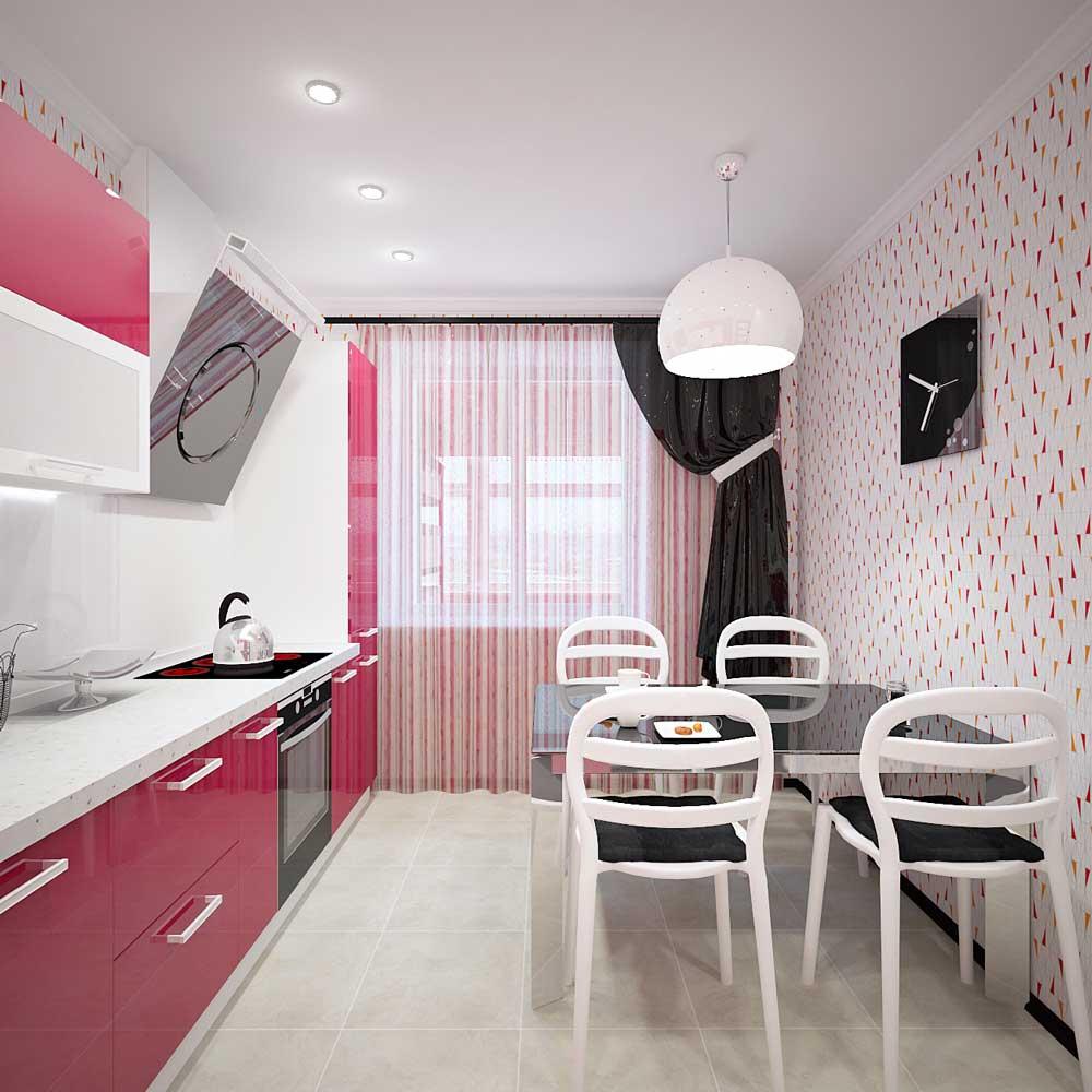 Дизайн кухни фото 8 кв метров с балконом.