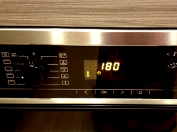 температура духовки