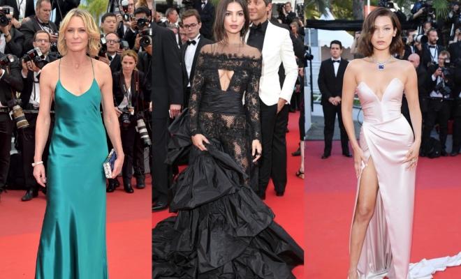 Горячая ковровая дорожка: 9 откровенных платьев Каннского фестиваля-2017