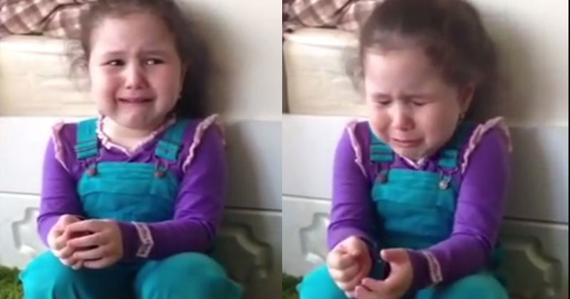 «Хочу жениха». Пятилетняя малышка расплакалась из-за своей личной жизни, и это очень забавно!