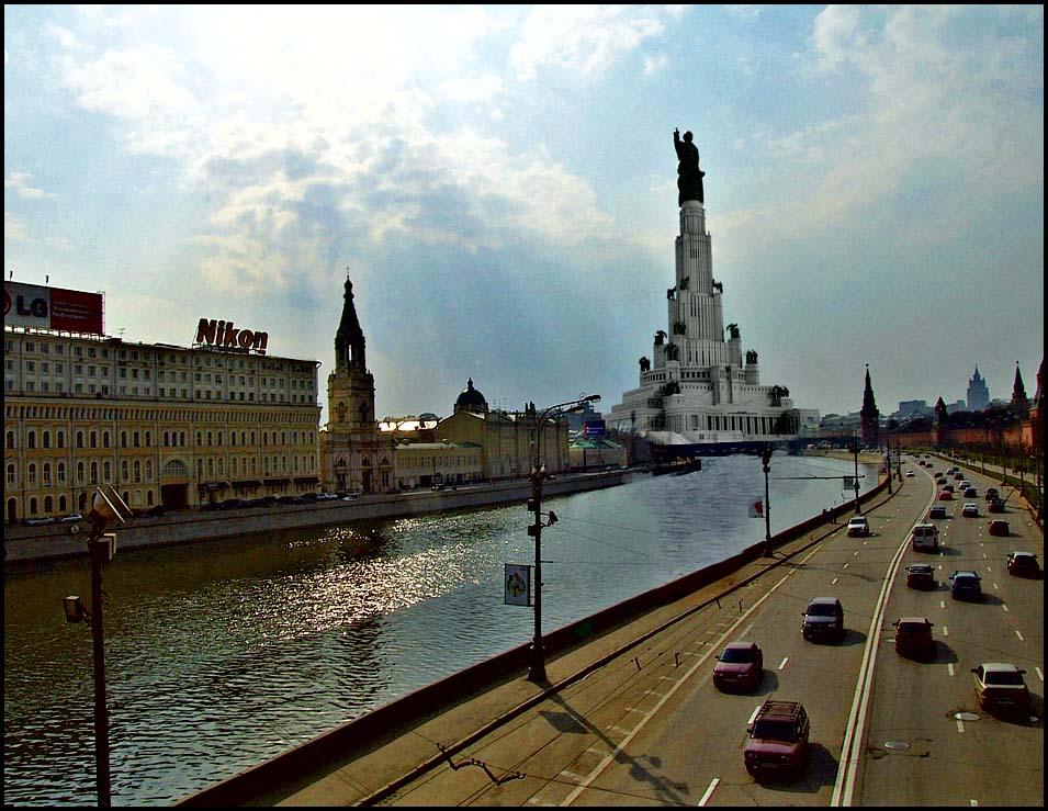 История Дворца Советов в Москве