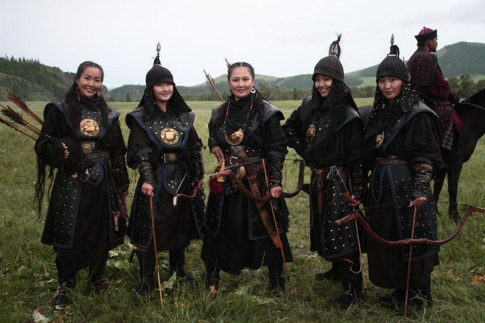 Тюркские амазонки: древние воины кочевых племен