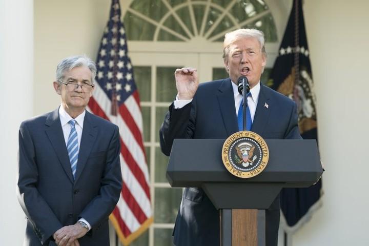Трамп в очередной раз раскритиковал ФРС США за намерение повысить ставку