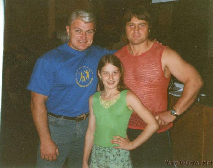 Варвара с детства участвовала в соревнованиях по тяжелой атлетике.